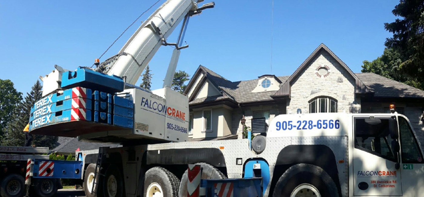 Lift Project Consultations By Falcon Crane from Niagara to Toronto